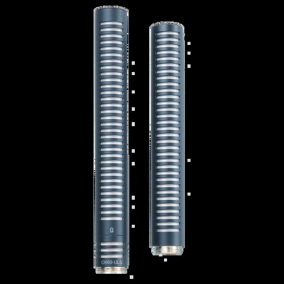CK69 ULS (discontinued) - Black - Reference small condenser microphone shotgun capsule - Hero