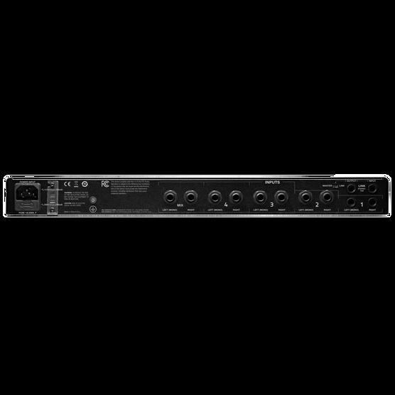 HP6E - Black - 6-channel matrix headphone amplifier - Back