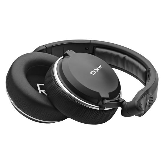 K182 - Black - Professional closed-back monitor headphones - Detailshot 1