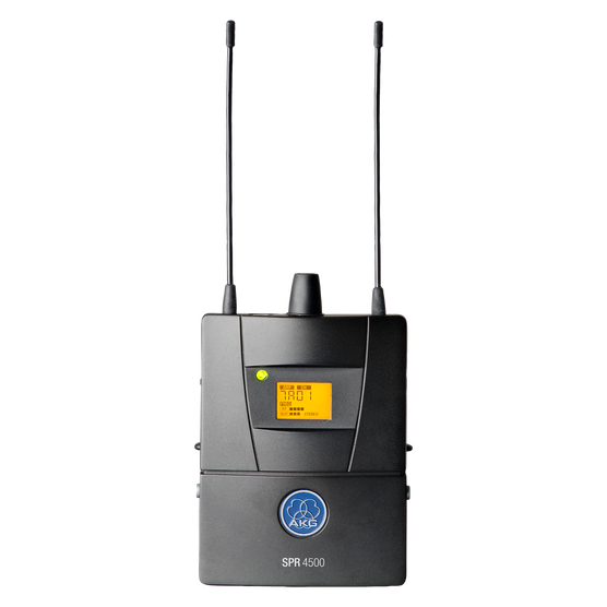 SPR4500 IEM - Black - Reference wireless in-ear-monitoring receiver - Hero