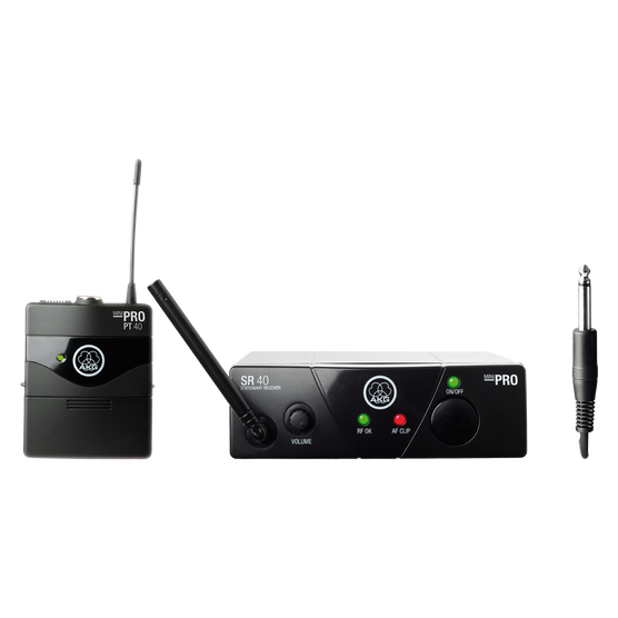 WMS40 Mini Instrumental Set Band-US45-C - Black - Wireless microphone system - Hero