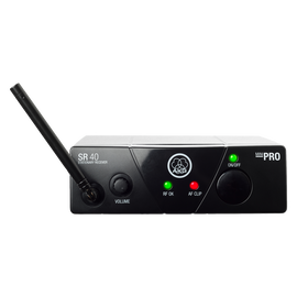 SR40 MINI - Black - Single wireless stationary receiver - Hero