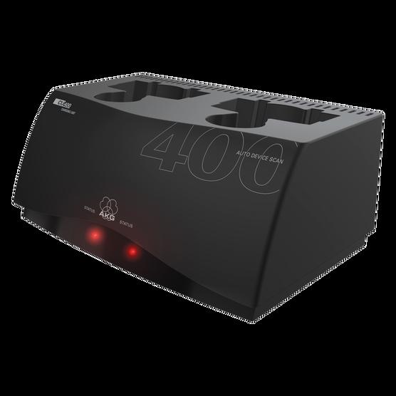 CU400 - Black - Charging unit for WMS420, WMS450 and WMS470 series transmitters - Detailshot 1