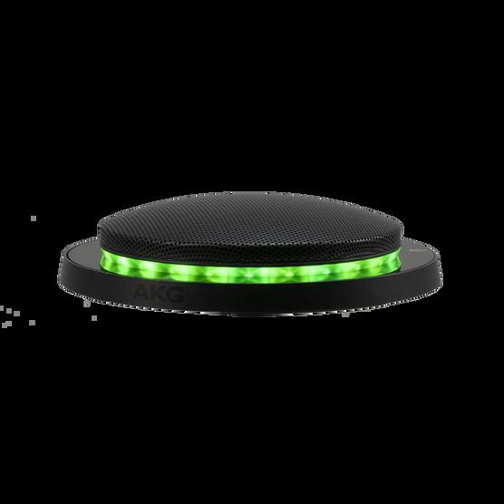 CBL201 - Black - Dual element, professional low-profile boundary layer microphone - Detailshot 1