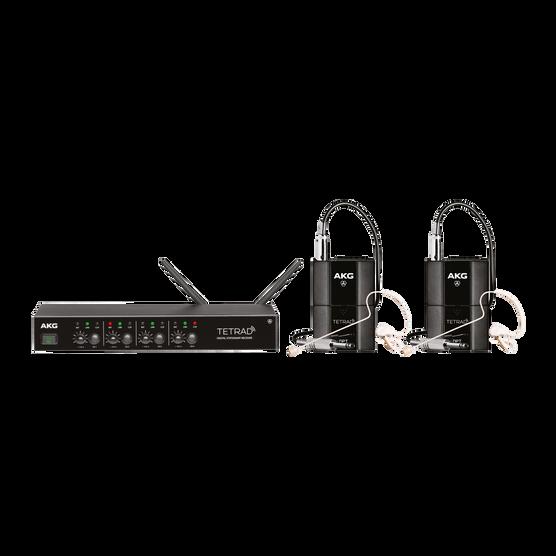 DMSTetrad Performer Set (EU) - Black - Professional digital four channel wireless system - Hero