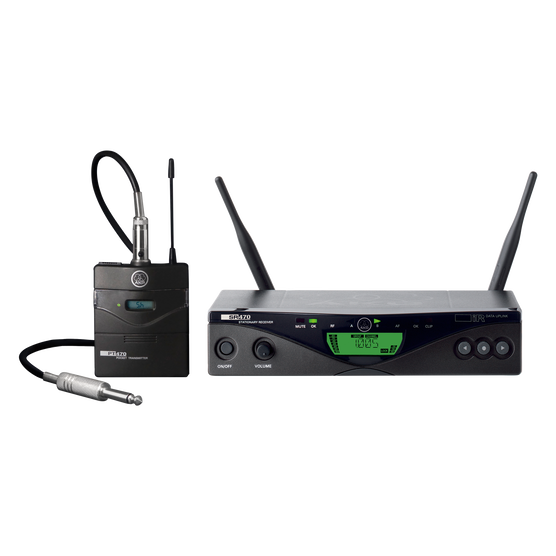 WMS470 Instrumental Set Band3 50mW EU/US/UK - Black - Professional wireless microphone system - Hero