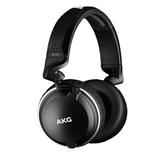 K182 - Black - Professional closed-back monitor headphones - Hero