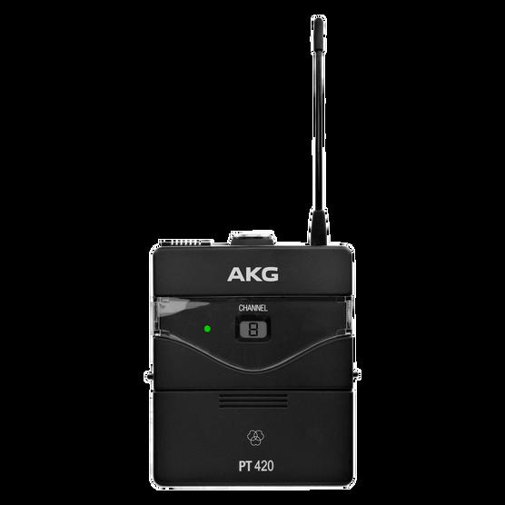 PT420 BandU1 - Black - Professional wireless body-pack transmitter - Hero