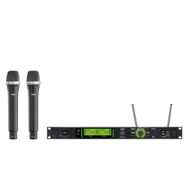 DMS800 Vocal Set D7 - Black - Reference digital wireless microphone system - Hero