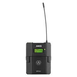DPT800 Band1 50mW - Black - Reference digital wireless body pack transmitter - Hero