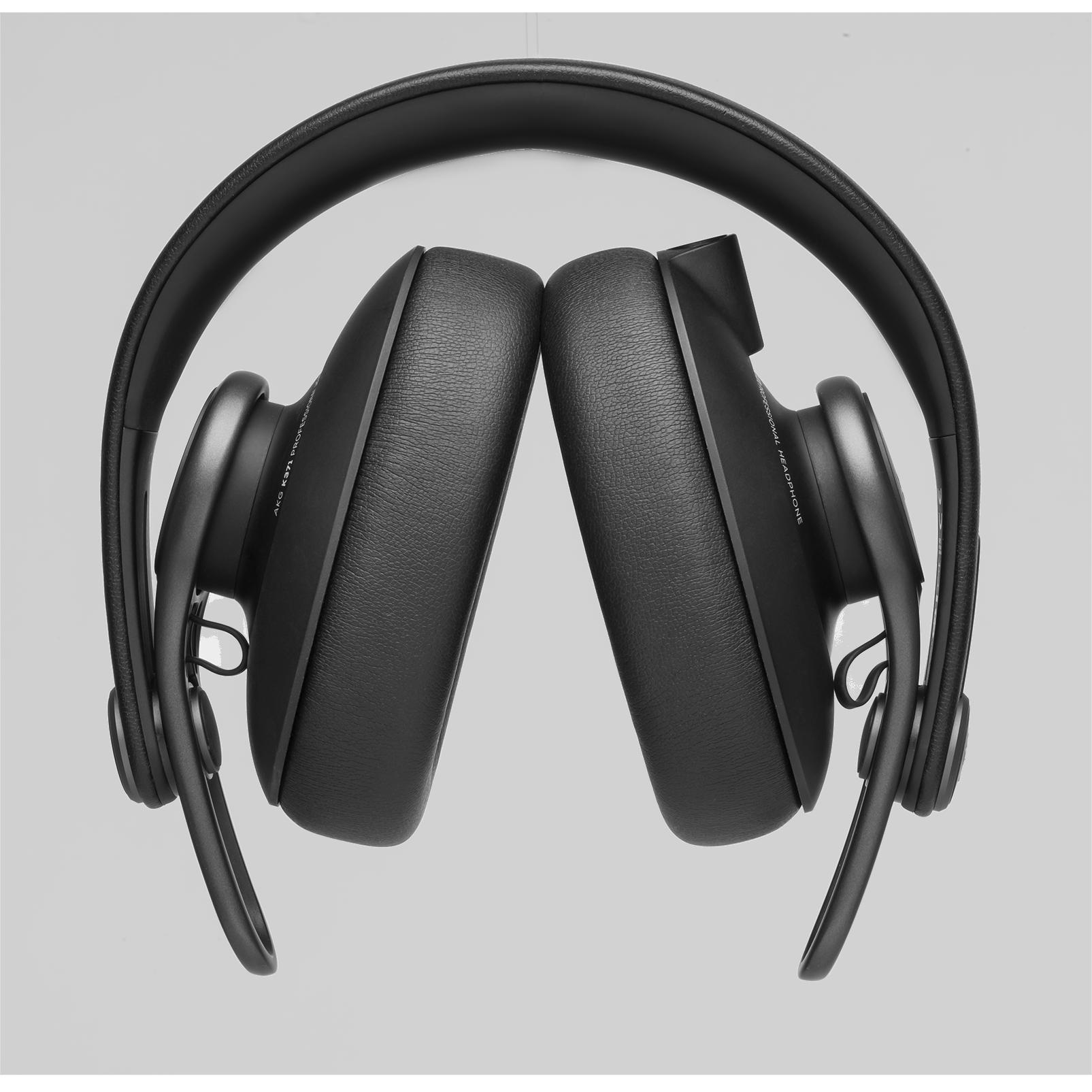 K371 - Black - Over-ear, closed-back, foldable studio headphones  - Detailshot 2