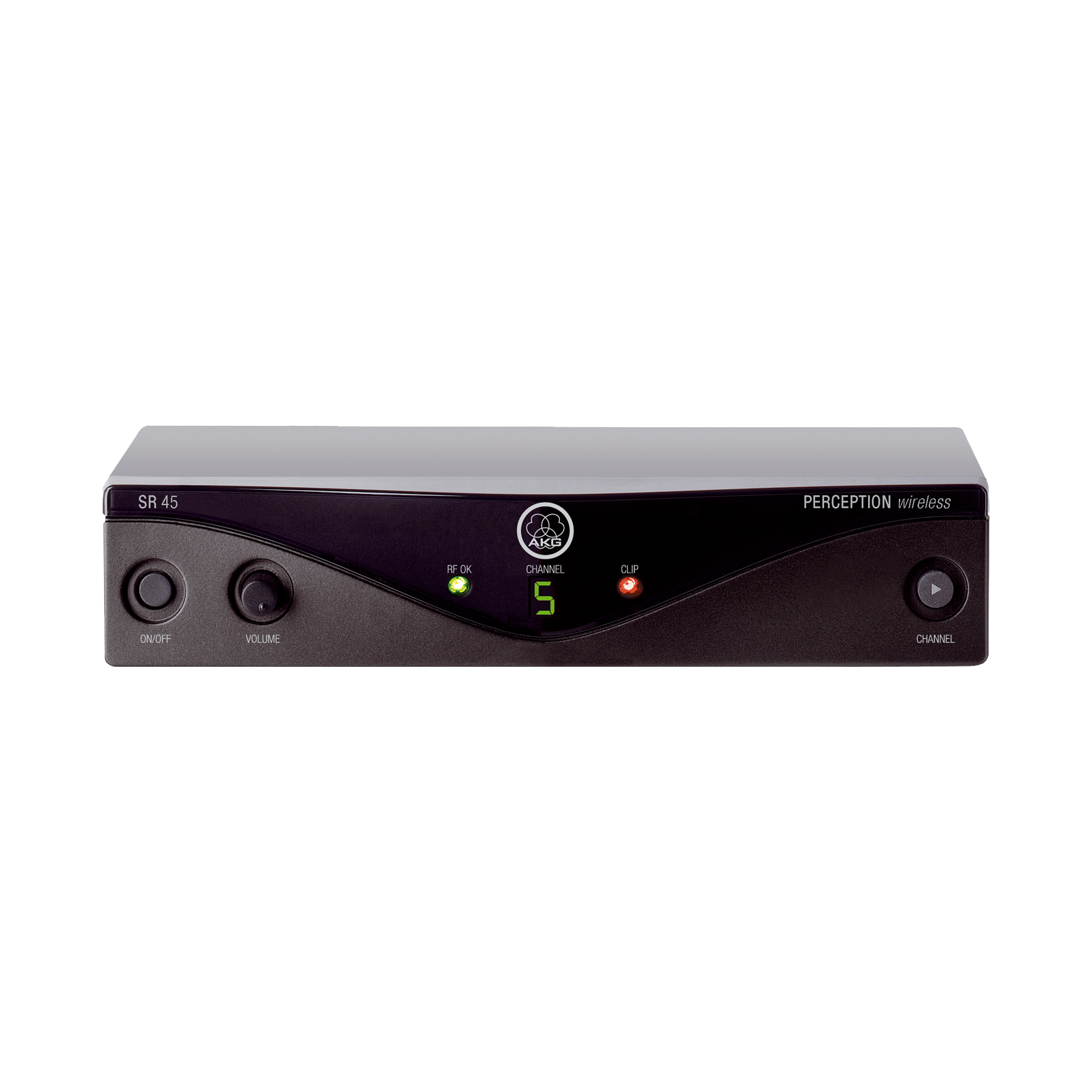 SR45 - Black - High-performance wireless stationary receiver - Hero