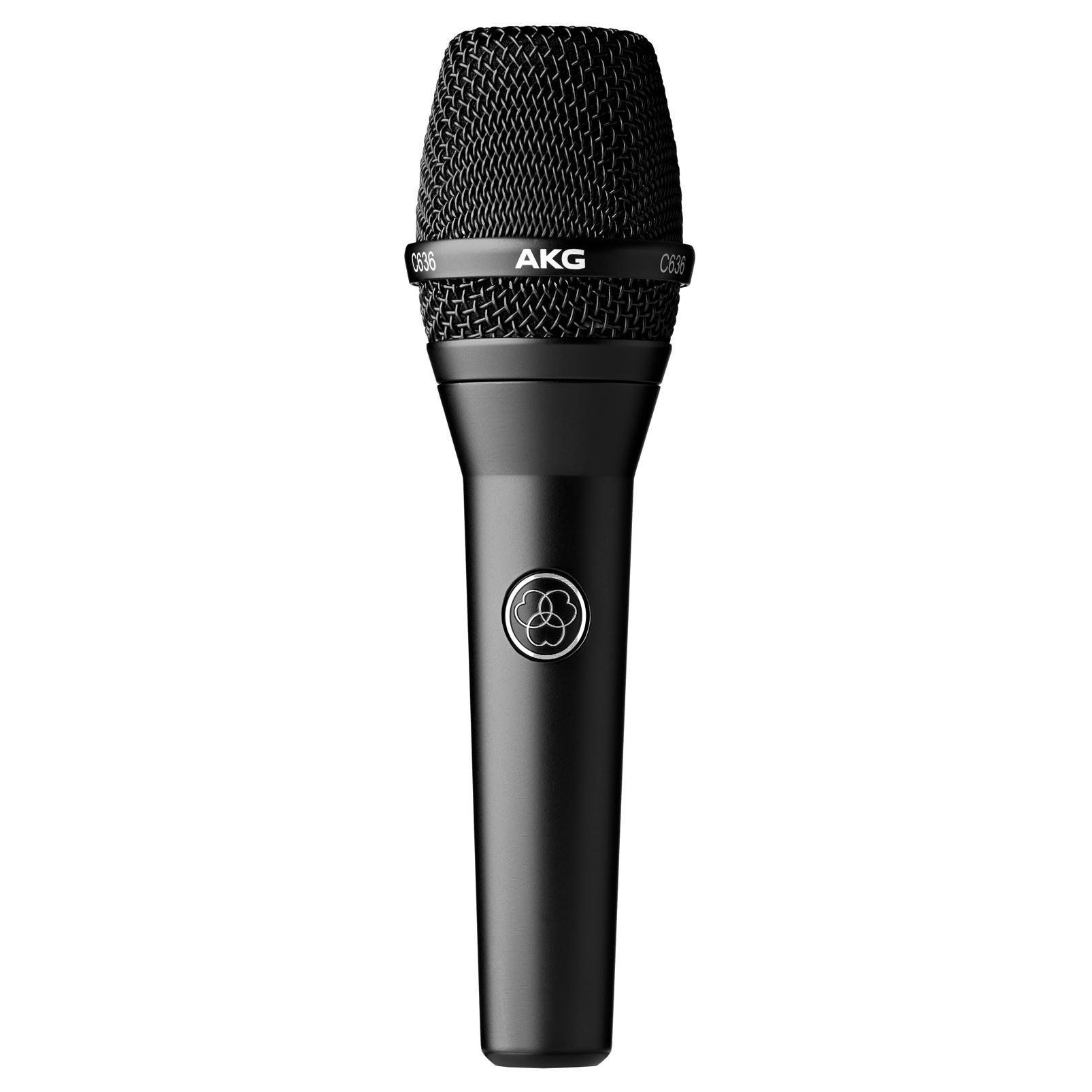 C636 - Black - Master reference condenser vocal microphone - Detailshot 1