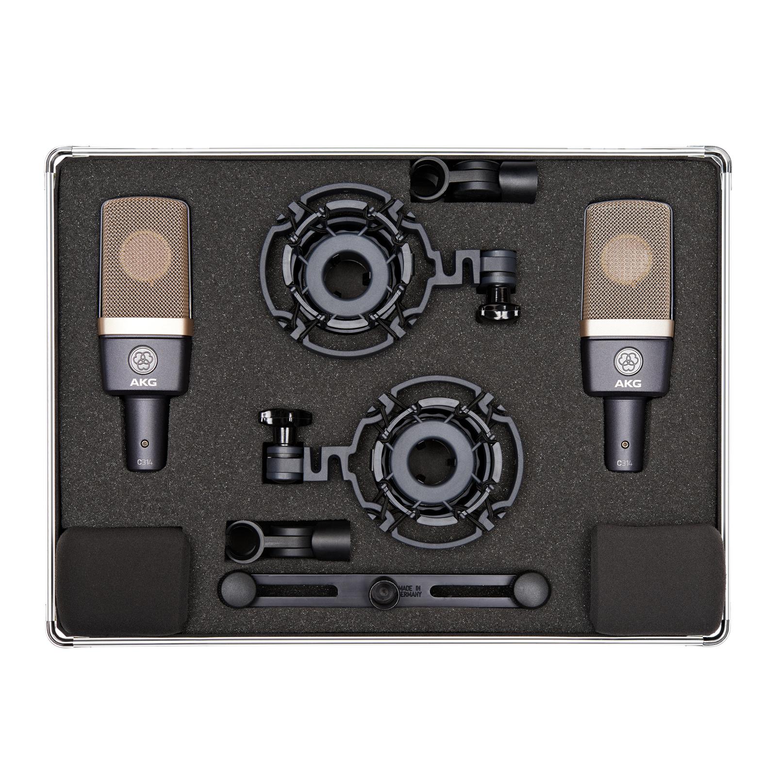 C314 Matched Pair - Black - Matched pair stereo set - Detailshot 1