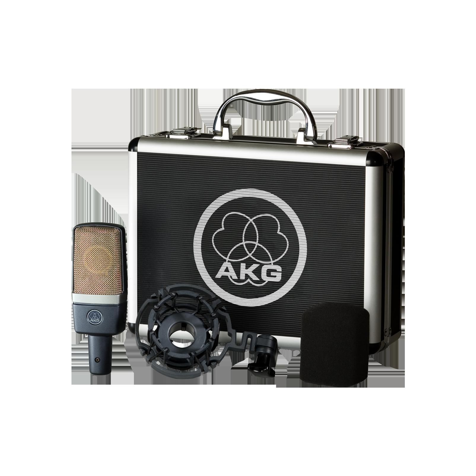 C214 - Black - Professional  large-diaphragm  condenser microphone - Detailshot 3