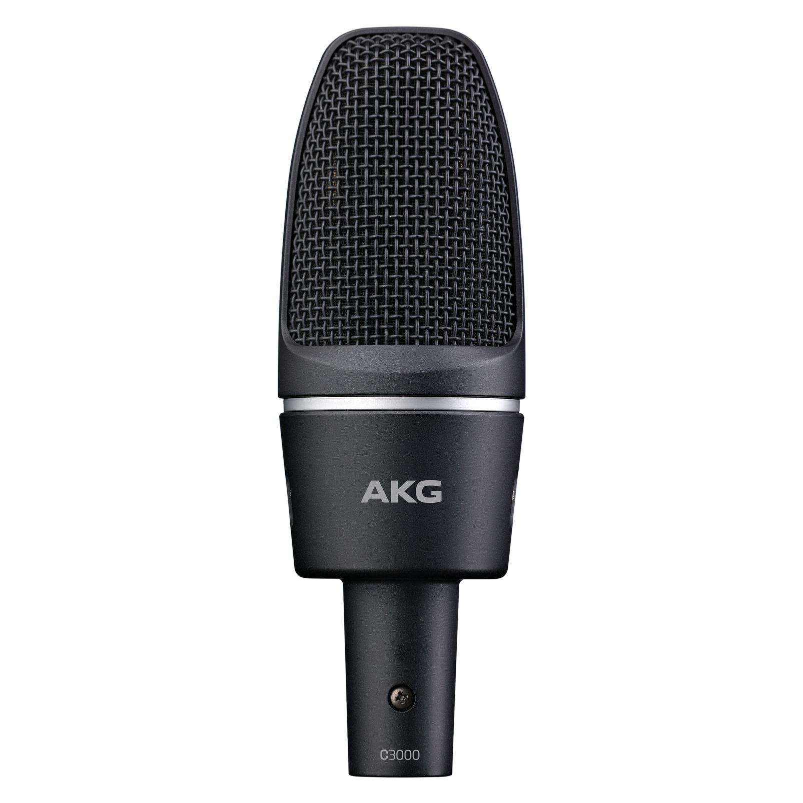 C3000 - Black - High-performance large-diaphragm condenser microphone - Hero